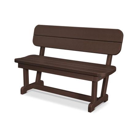 """Park 48"""" Bench in Mahogany"""