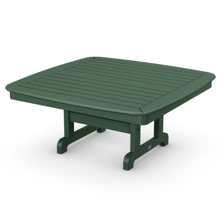 """Nautical 44"""" Conversation Table in Green"""
