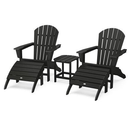 South Beach Adirondack 5-Piece Set in Black