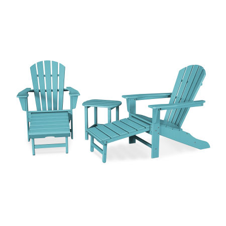 Palm Coast Ultimate Adirondack 3-Piece Set in Aruba