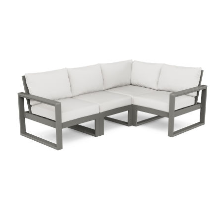 EDGE 4-Piece Modular Deep Seating Set