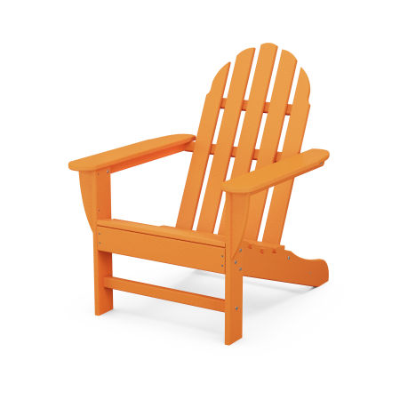 Classic Adirondack Chair in Tangerine
