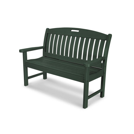 "Nautical 48"" Bench in Green"