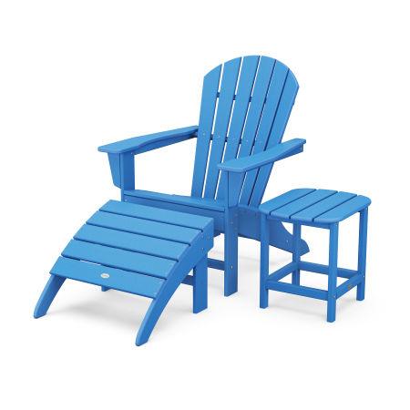 South Beach Adirondack 3-Piece Set in Pacific Blue
