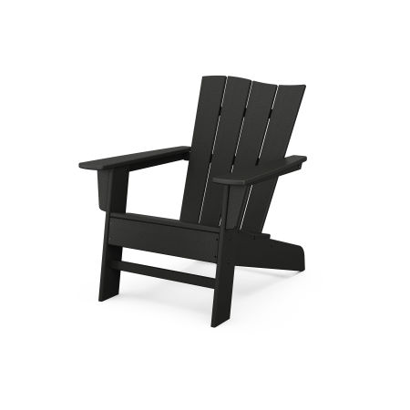 The Wave Chair Left in Black