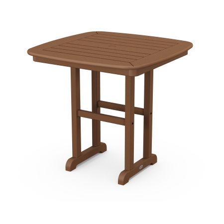 "Nautical 31"" Dining Table in Teak"