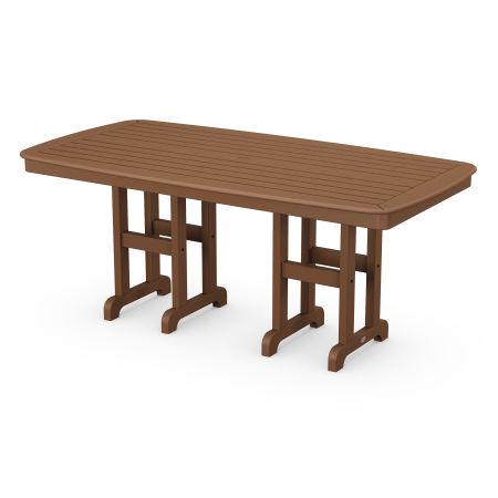 "Nautical 37"" x 72"" Dining Table in Teak"