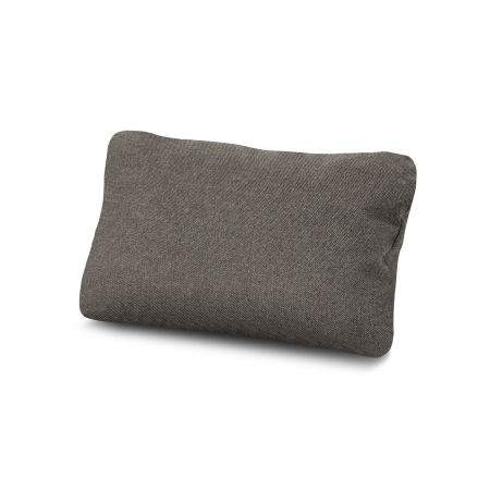 Outdoor Lumbar Pillow in Blend Coal