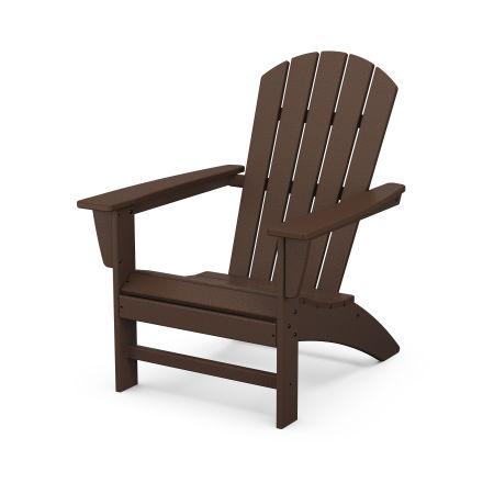 Nautical Adirondack Chair in Mahogany