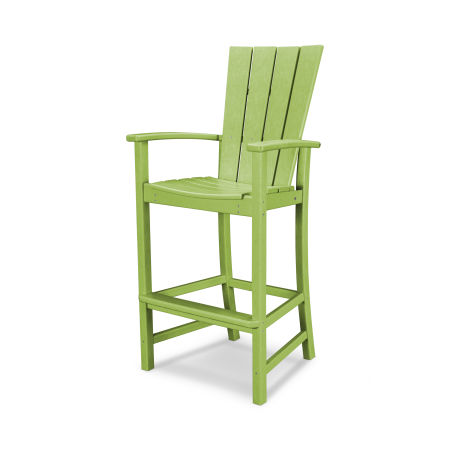 Quattro Adirondack Bar Chair in Lime