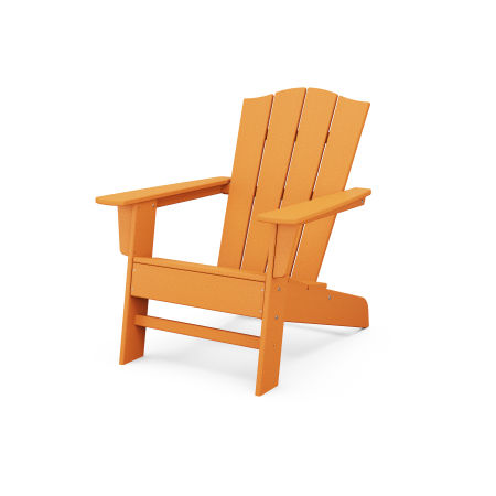 The Crest Chair in Tangerine