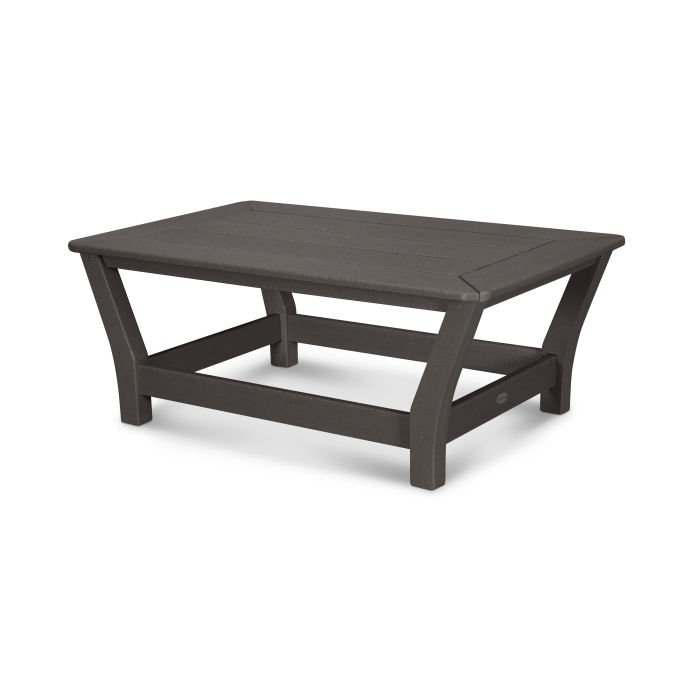 Harbour Slat Coffee Table in Vintage Finish