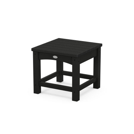 "Club 18"" Side Table in Black"