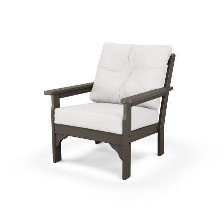 Vineyard Deep Seating Chair in Vintage Finish