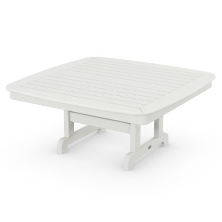 """Nautical 44"""" Conversation Table in Vintage White"""