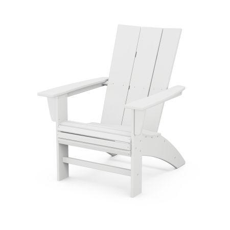 Modern Curveback Adirondack in White