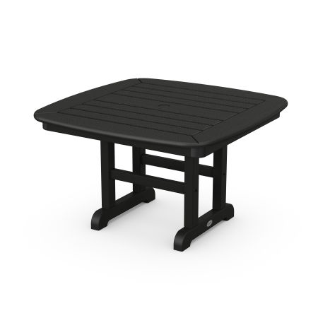 "Nautical 31"" Conversation table in Black"