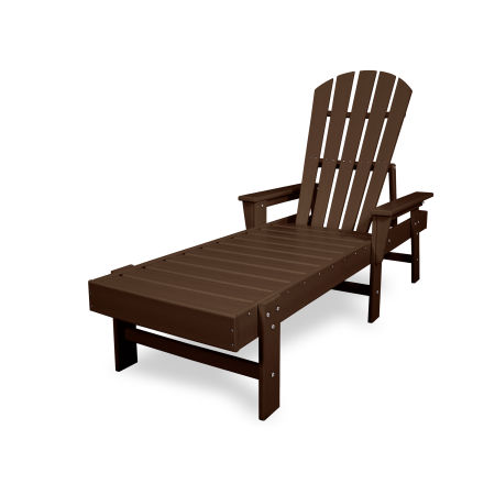South Beach Chaise in Mahogany