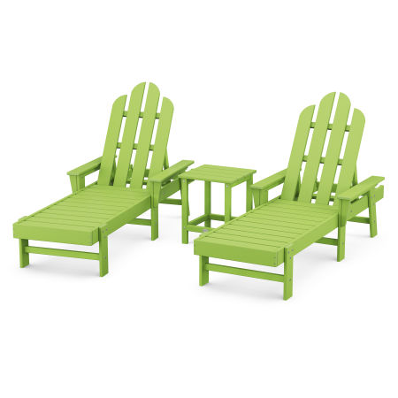 Long Island Chaise 3-Piece Set in Lime