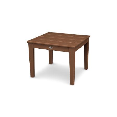 """Newport 22"""" End Table in Teak"""