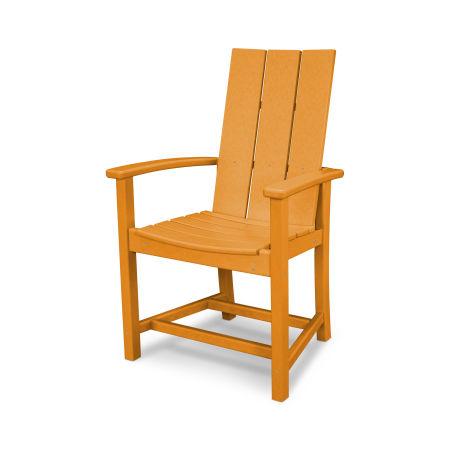 MOD Adirondack Dining Chair in Tangerine
