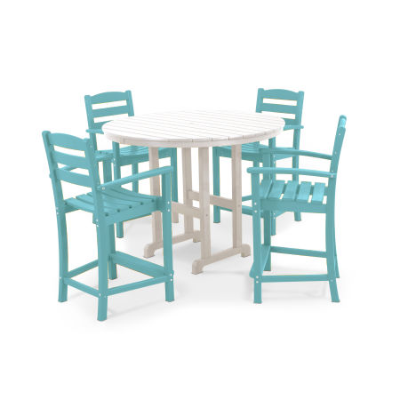 La Casa Café 5-Piece Counter Set in Aruba