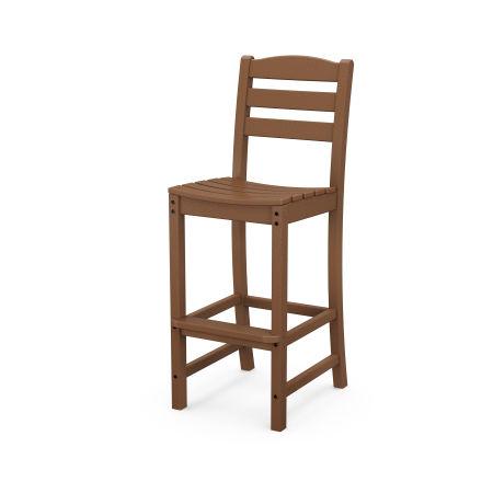 La Casa Café Bar Side Chair in Teak