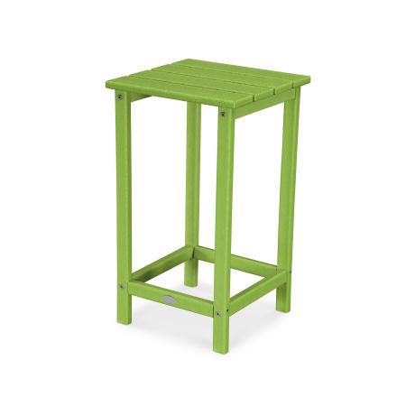 """Long Island 26"""" Counter Side Table in Lime"""