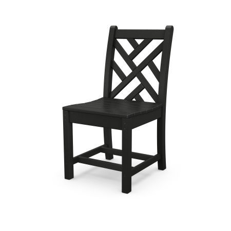 Chippendale Dining Side Chair in Black