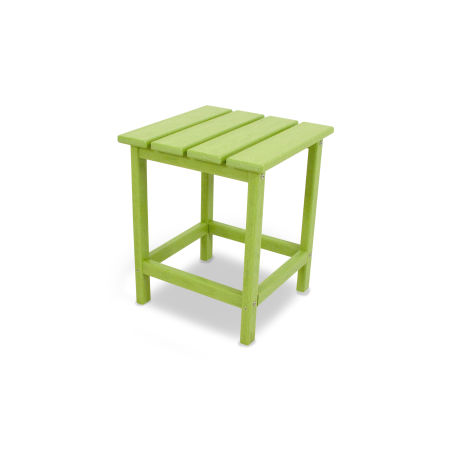 """Long Island 18"""" Side Table in Lime"""
