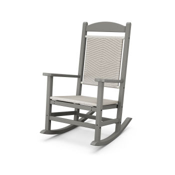 Presidential Woven Rocking Chair