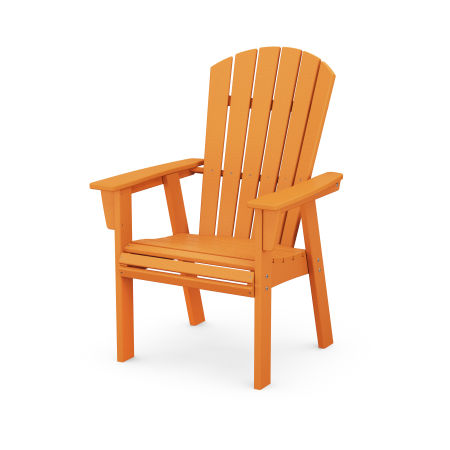 Nautical Adirondack Dining Chair in Tangerine