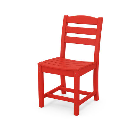 La Casa Café Dining Side Chair in Sunset Red