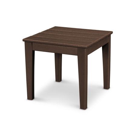 "Newport 18"" End Table in Mahogany"
