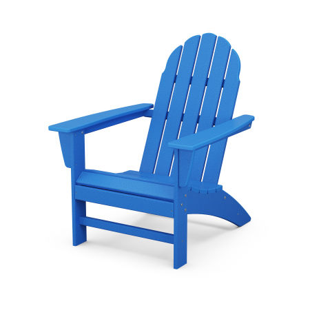 Vineyard Adirondack Chair in Pacific Blue
