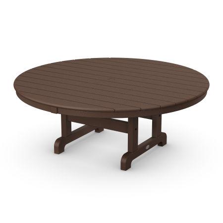 "Round 48"" Conversation Table in Mahogany"