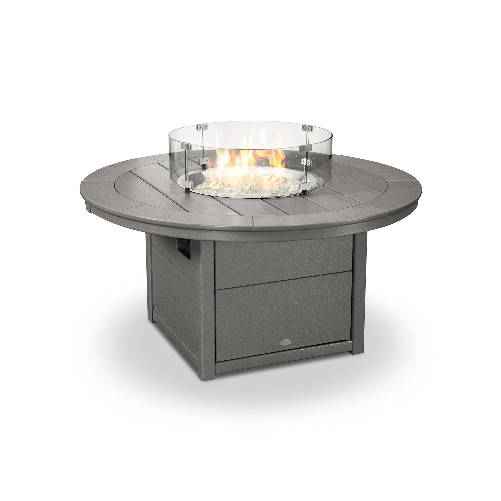Picture of: Polywood Round 48 Fire Pit Table Ctf48r Polywood Official Store