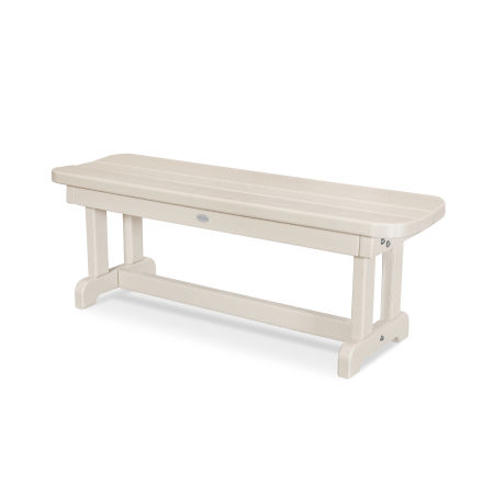 """Park 48"""" Backless Bench in Sand"""