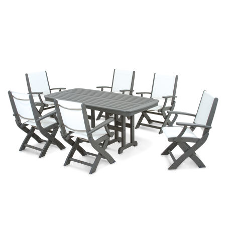Coastal 7-Piece Dining Set