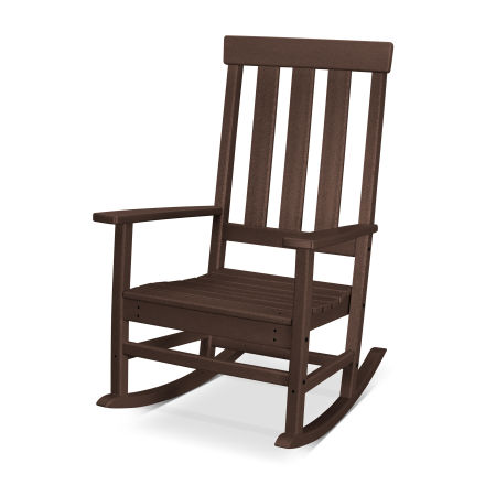 Prescott Porch Rocking Chair in Mahogany