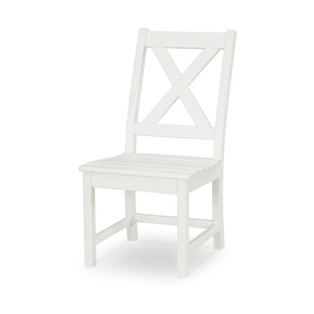 Braxton Dining Side Chair in White