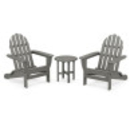 Classic Folding Adirondack 3-Piece Set