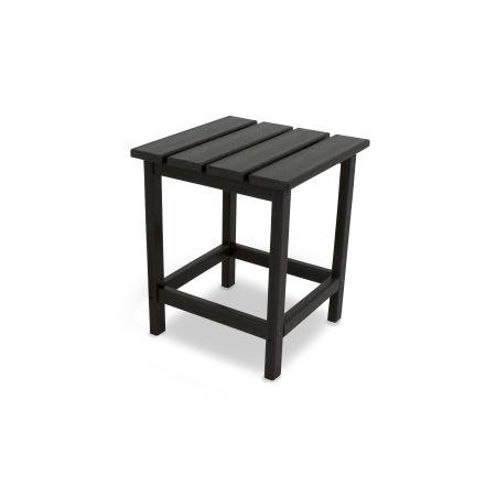 "Long Island 18"" Side Table in Black"