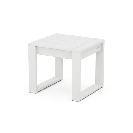 EDGE End Table in White