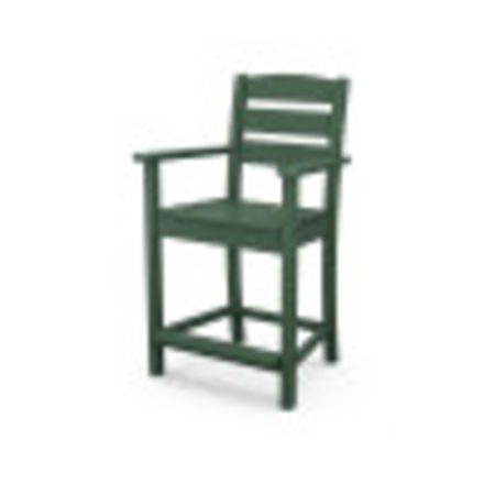 Lakeside Counter Arm Chair in Green
