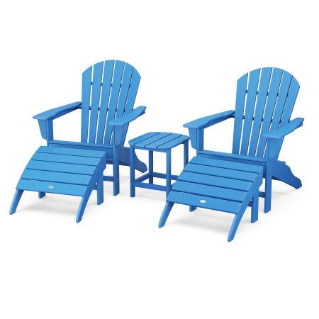 South Beach Adirondack 5-Piece Set in Pacific Blue