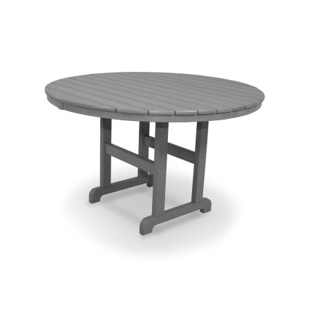 "Classics Round 48"" Dining Table in Slate Grey"