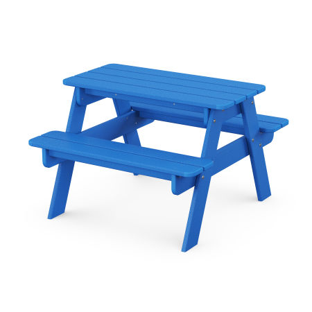 Kids Picnic Table in Pacific Blue