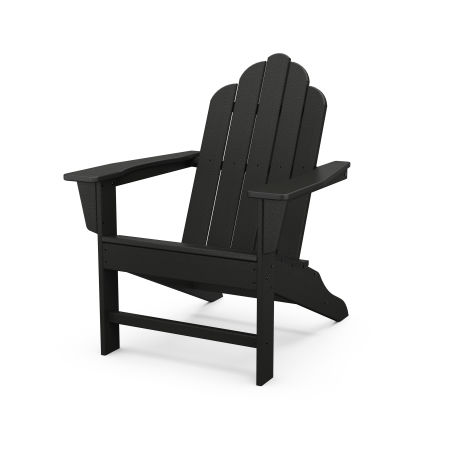 Long Island Adirondack in Black