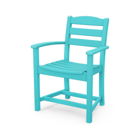 La Casa Café Dining Arm Chair in Aruba